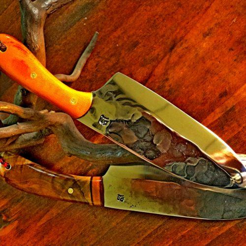 Мальк кухненски  150 на 50 мм острие  прикован на огнище и направен от нерьждаема ножарска стомана